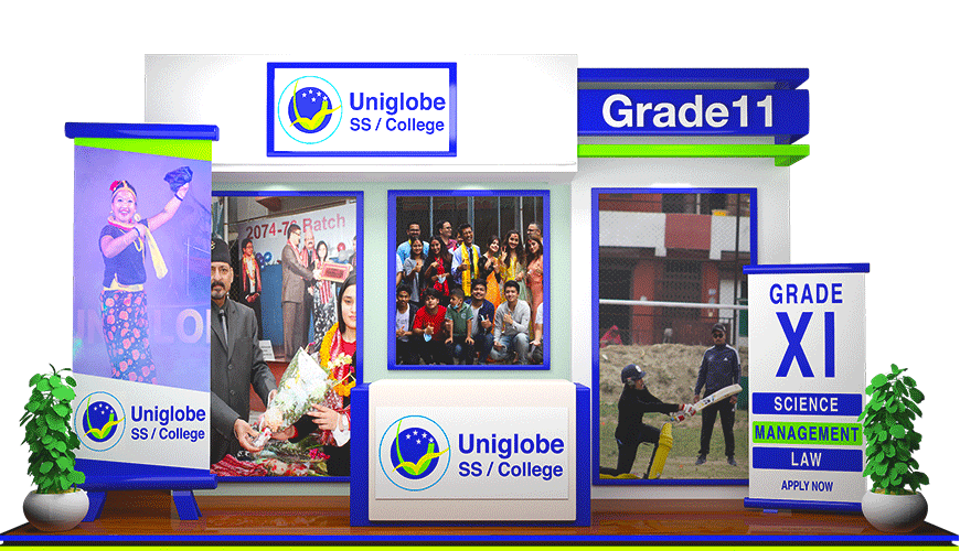 Uniglobe SS / College logo