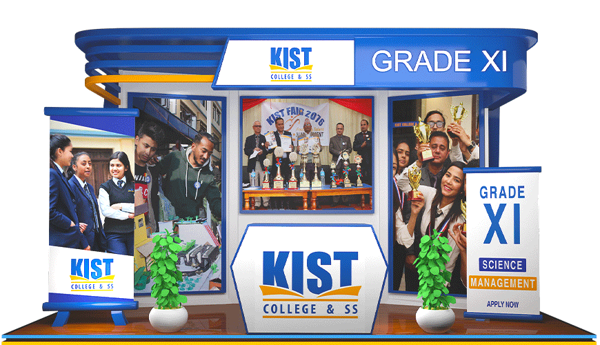 KIST College and SS logo